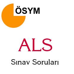 29 Nisan 2012 ALS (Askeri Liseler) Sınavı Soru ve Cevapları
