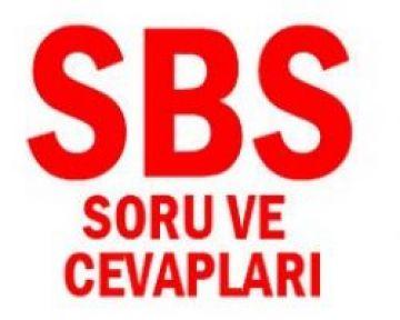 SBS Soruları 2012 ( MEB SBS Soruları )