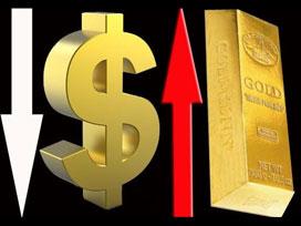 Altın yükseldi dolar 2 ay önceye döndü