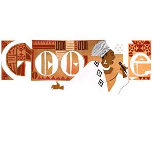 Google Miriam Makeba'nın doğum gününü kutluyor