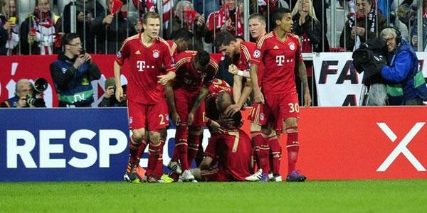 Bayern Münih 90'dan vurdu!