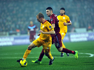 Trabzonspor Galatasaray ilk 11