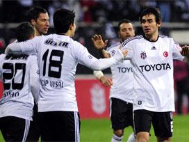 Beşiktaş idare etti: 2-1