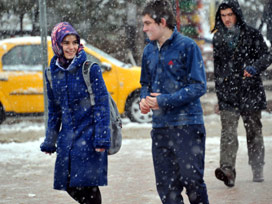 11 ilde okullar kar nedeniyle tatil