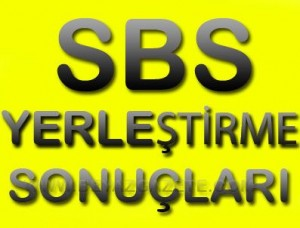sbs yedek yerleştirme 2012