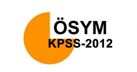 2012 kpss soruları