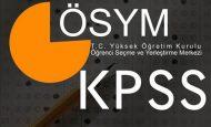 2012 KPSS A Grubu Lisans ve Öğretmenlik Başvuru Sınav Tarihleri