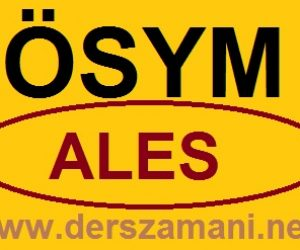 2014 ALES Ne Zaman Sınav Tarihi