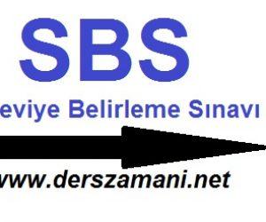 SBS Giriş Belgesi 2013