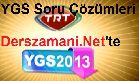 2013ygssorulari