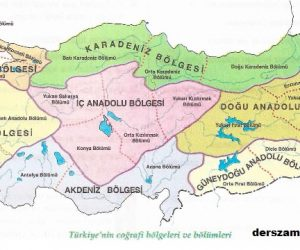 Türkiye İdari Bölümler Haritası