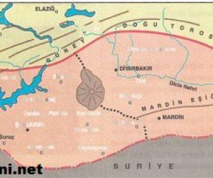 Güneydoğu Anadolu Bölgesi Yeryüzü Şekilleri