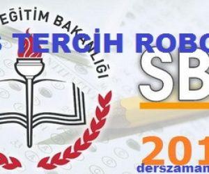 SBS Tercih Robotu 2013
