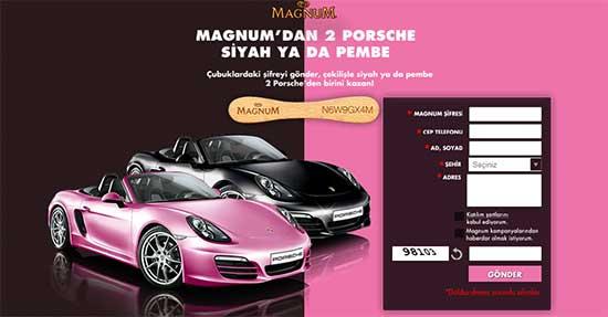 Magnum Porsche çekiliş Sonuçları 8 Eylül 2013 Tıkla öğren