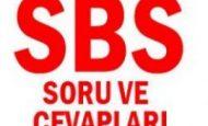 2012 8. Sınıf SBS Soruları ve Cevapları MEB