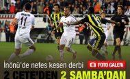 Beşiktaş 2 Fenerbahçe 2 Maçı Özeti ve Golleri 27 Ekim 2011
