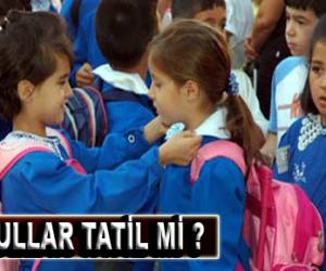28 Ekim 2013 Pazartesi Okullar Tatil mi