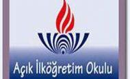 11 Aralık 2011 AİO Açık İlköğretim 1. Dönem Sınav Sonuçları
