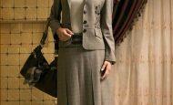 Tesettürlü İçin Bayan Takım Elbise Modelleri