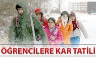 Okullara Kar Tatili Olan Verilen İller ve İlçeler – Son Durum – 1 Mart 2012 perşembe