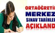 TEOG Ortak Sınavlar Saat Kaçta Başlıyor ve Bitiyor