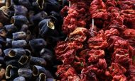 Patlıcan Biber Kurutması Nasıl Yapılır