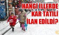 Erzurum Kar Tatili Var mı 9 Aralık Erzurum Okullar Tatil mi