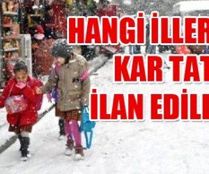 Ankara Kar Tatili 9 Aralık 2013 Pazartesi Son Durum