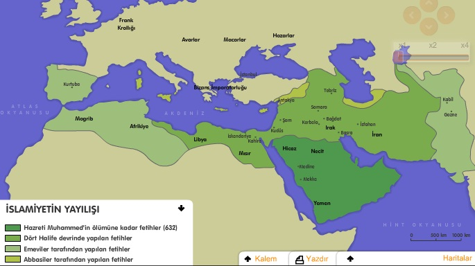 İslamiyetin Yayılışı