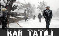 Kar Tatili Olan İller 12 Aralık 2013