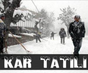 12 Aralık Diyarbakır Kar Tatili Var mı Okullar Tatil Edildi