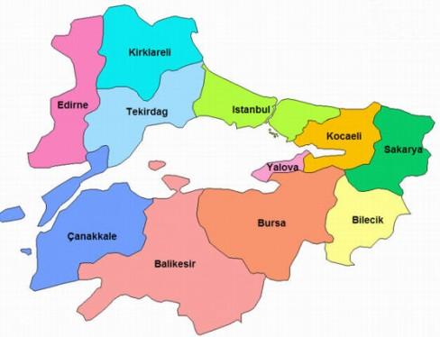 Marmara bölgesi hayvancılık faaliyetleri özet bilgi