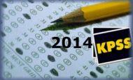 Kamu Personeli Seçme Sınavı 2014 KPSS Ortaöğretim Önlisans
