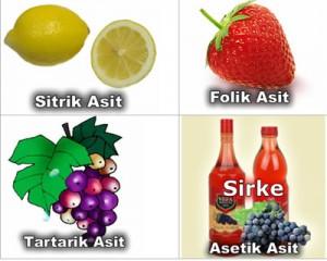 Asitler Ve Bazlar Formülleri