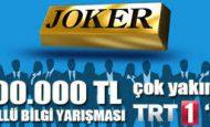 TRT 1 Joker Yarışması Başvuru Formu 2014