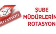 Şube Müdürlüğü Rotasyon Sonuçları 2014