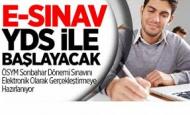2014 YDS Elektronik Sınav Olarak Yapılacak
