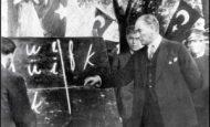 Atatürk'e Neden Başöğretmenlik Ünvanı Verilmiştir