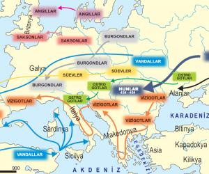 Kavimler Göçü'nün Avrupa'nın Siyasi Tarihi Açısından Sonuçları Nelerdir