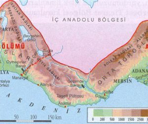 Akdeniz Bölgesinin Bölümleri ve Özellikleri