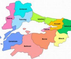 Marmara Bölgesinin Coğrafi Özellikleri