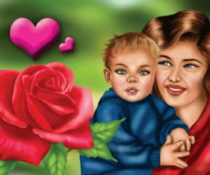 Anne İle İlgili Kompozisyon
