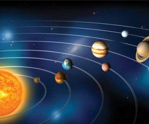 Güneş Gezegenler ve Uydulardan Oluşan Sistem