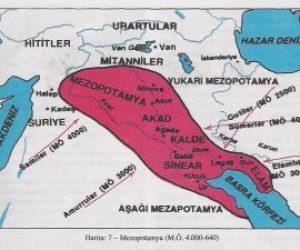 Mezopotamya Uygarlığı İçerisinde Yer Alan Medeniyetler ve Özellikleri
