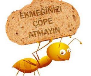 Ekmek İsrafı İle İlgili Örnek Sloganlar