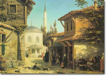 osmanlı kent günlük yaşam ile ilgili görsel sonucu