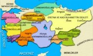 Kösedağ Savaşından Sonra Kurulan Türk Beylikleri Ve Kuruldukları Yerler