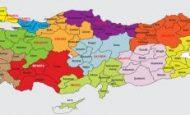 Türkiye'nin Kaç İli Ve İlçesi Vardır?