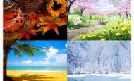 Mevsimler İle İlgili Kompozisyon