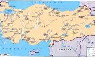 Türkiye'nin Akarsuları Ve Döküldükleri Denizler Yerler